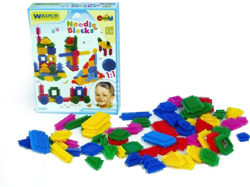 Wader tüskés 64 darabos építőjáték