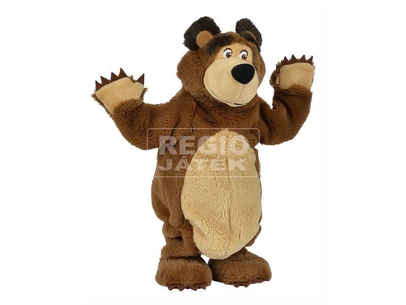 kép nagyítása Masha és a medve táncoló medve plüssfigura - 32 cm