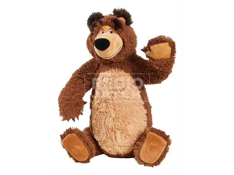 kép nagyítása Masha és a medve mackó plüssfigura - 43 cm
