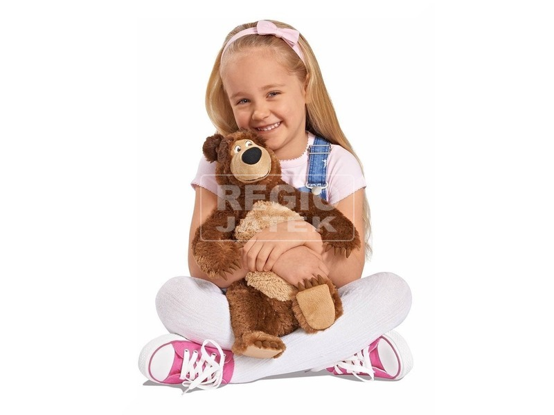 kép nagyítása Masha és a medve mackó plüssfigura - 50 cm
