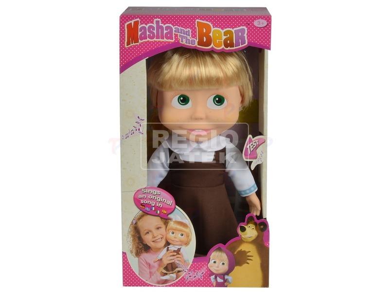 Masha éneklő baba - 30 cm