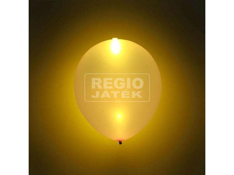 LED lufi 5 darabos készlet - arany