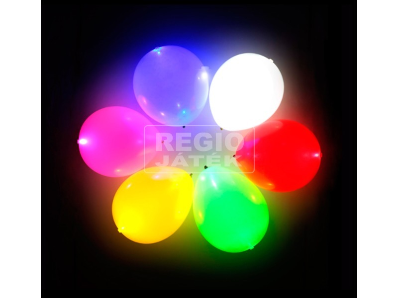 LED lufi 5 darabos készlet - vegyes