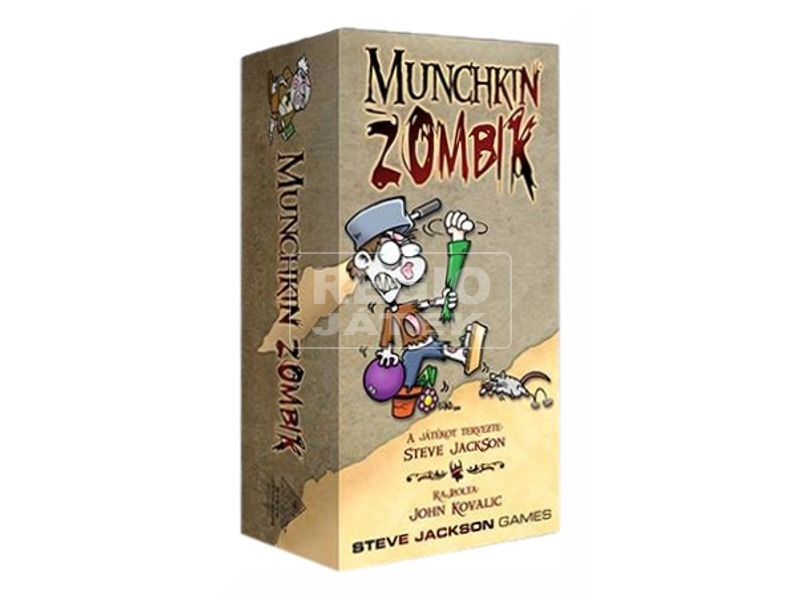 Munchkin zombik DEL