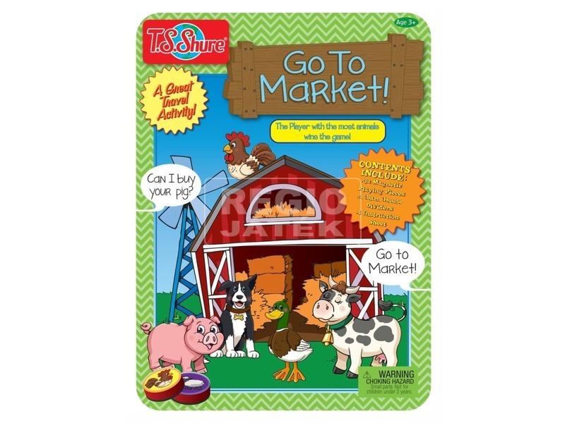 Fém dobozos mágneses társas - Irány a piac!