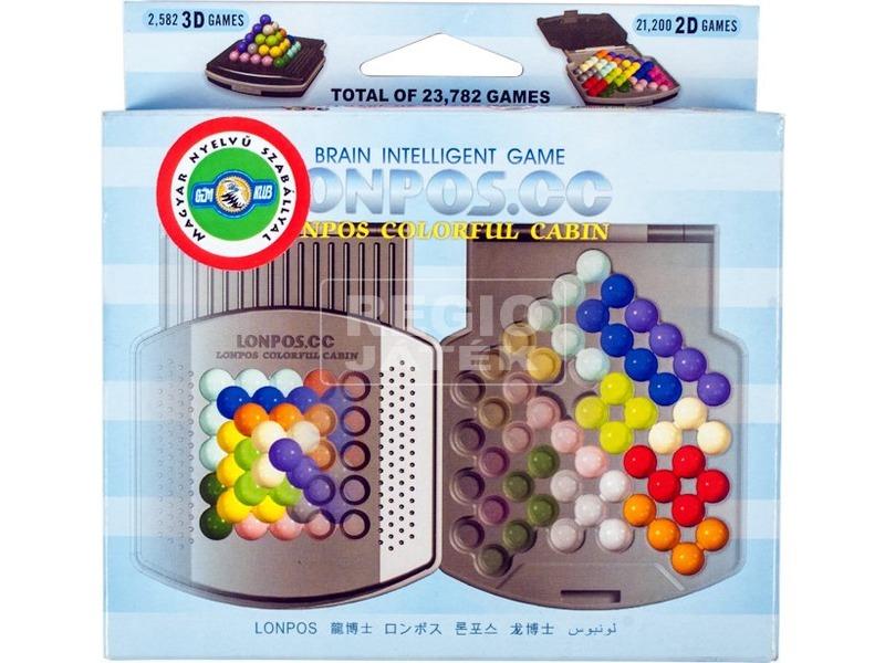 kép nagyítása Lonpos 66 Colorful Cabin logikai játék