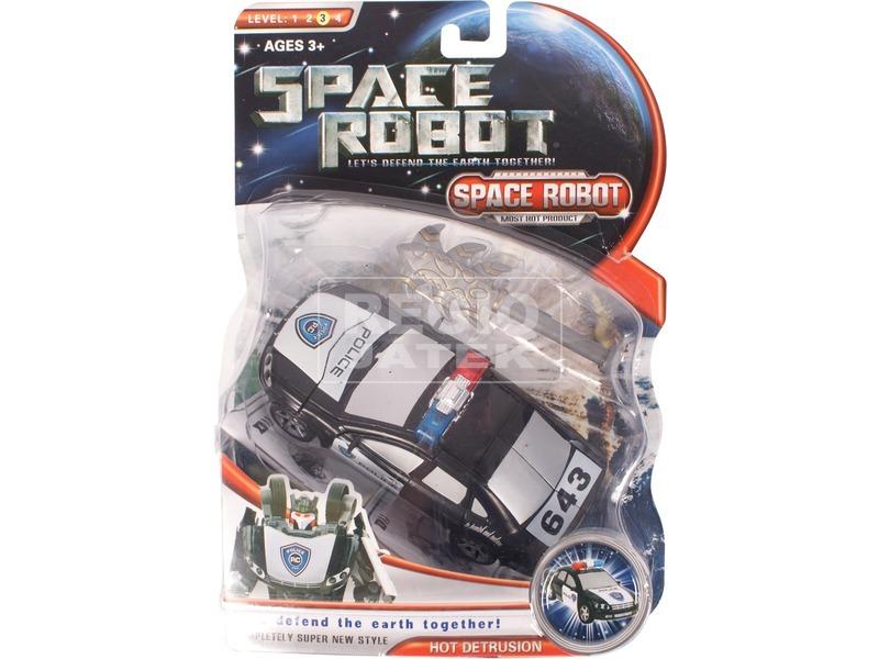 Space Robot átalakuló űrrobot - 20 cm, többféle