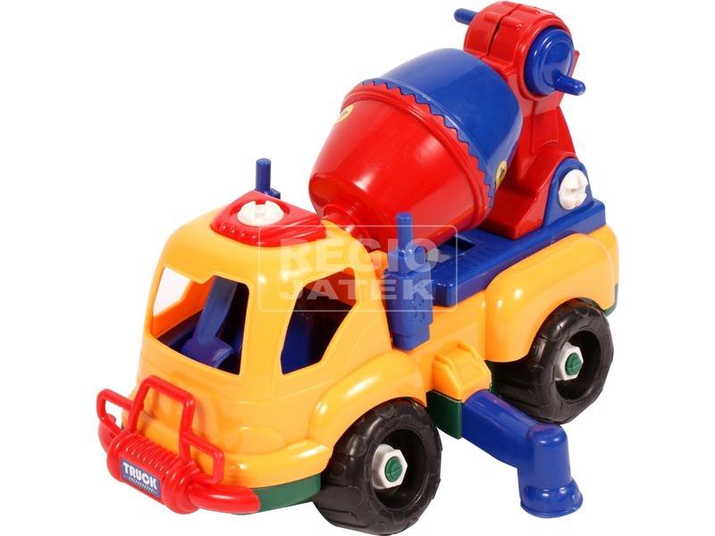 Szerelhető teherautó csavarozó készlet - többféle