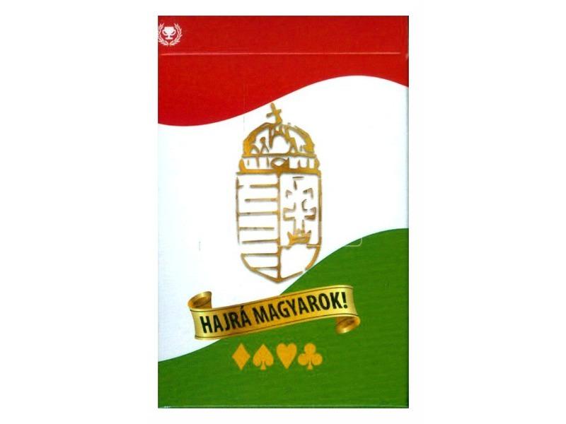 Hajrá magyarok! Szurkoló römi kártya