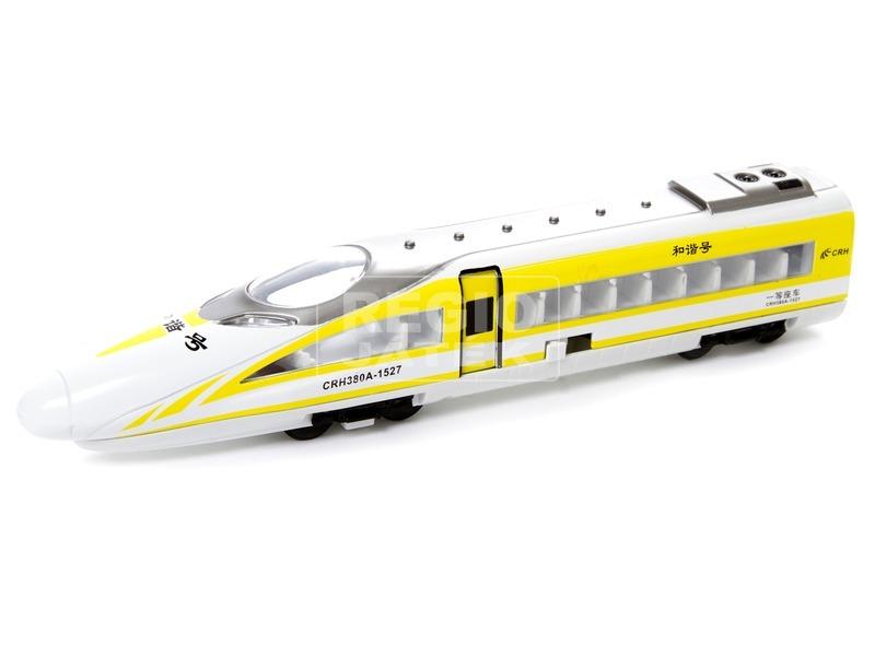 kép nagyítása Fém vonat, visszahúzós