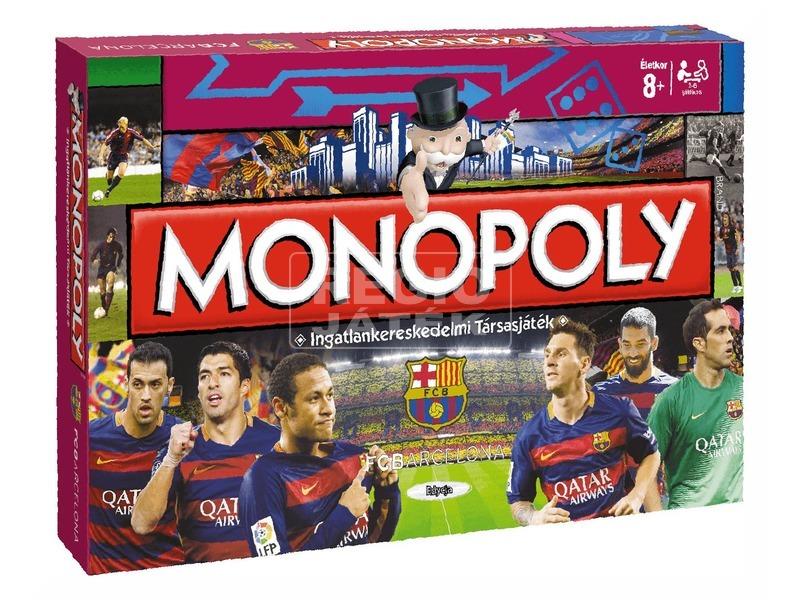 Monopoly társasjáték - FC Barcelona kiadás