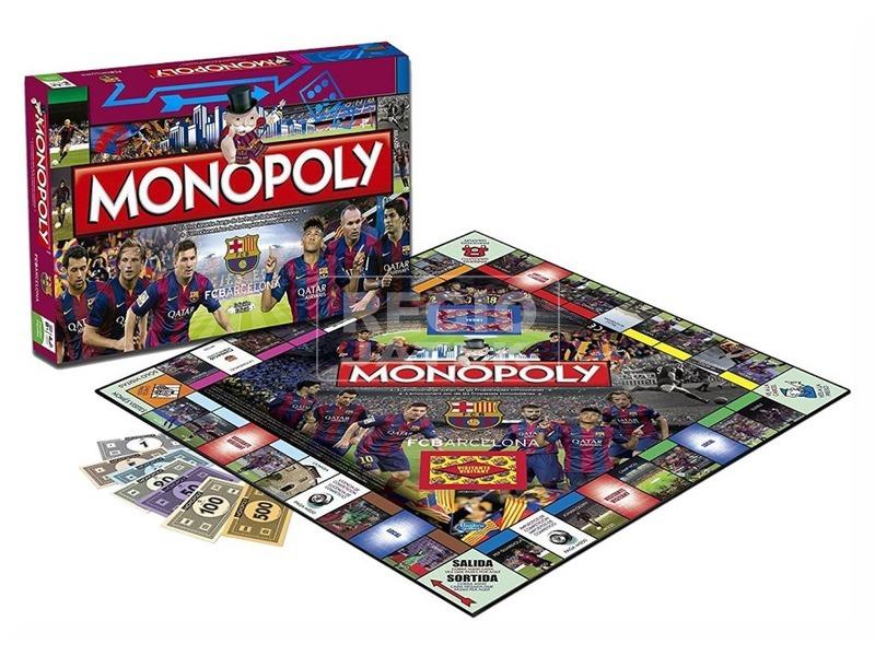 kép nagyítása Monopoly társasjáték - FC Barcelona kiadás