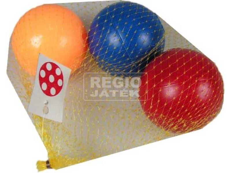 Hálós labdakészlet - 6 cm, többféle