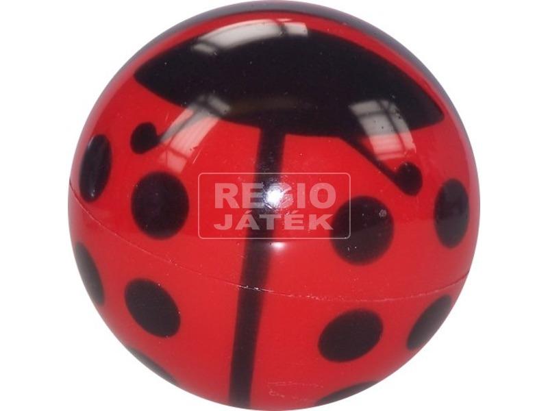 Katicás lakkfényű labda - 14 cm