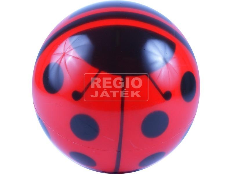 Katicás lakkfényű labda - 18 cm