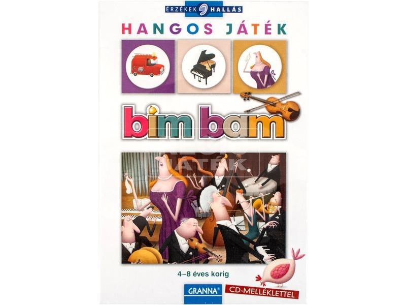 Bim-bam zenés társasjáték cd-vel