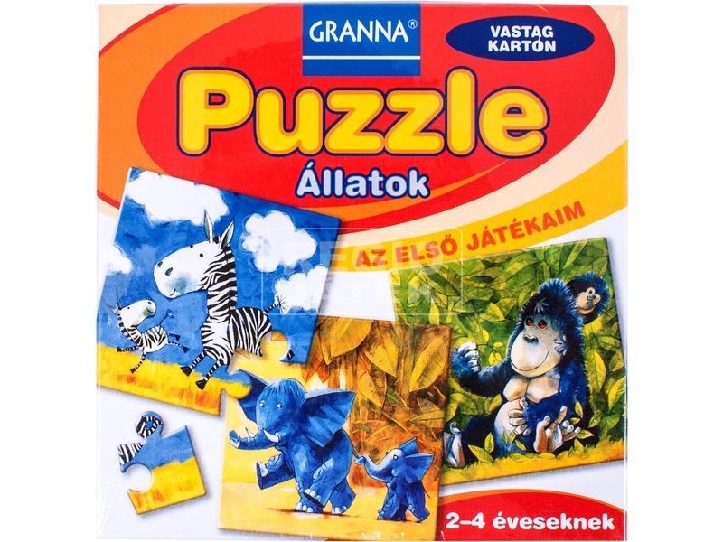 Az első játékaim - Puzzle Állatok