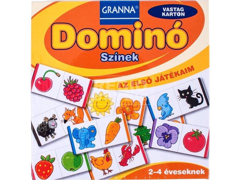 Granna - Dominó, Színek - Első játékaim sorozat