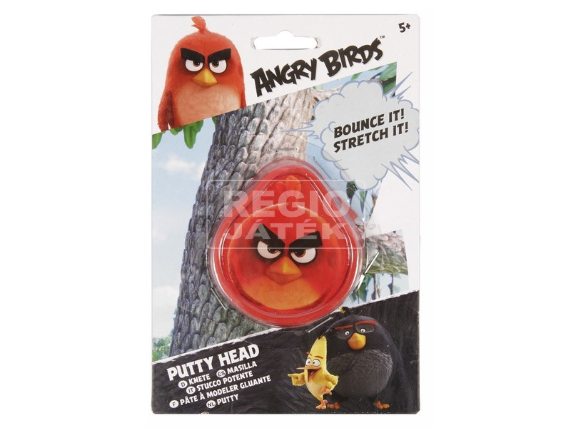 Angry Birds pattogó gyurma