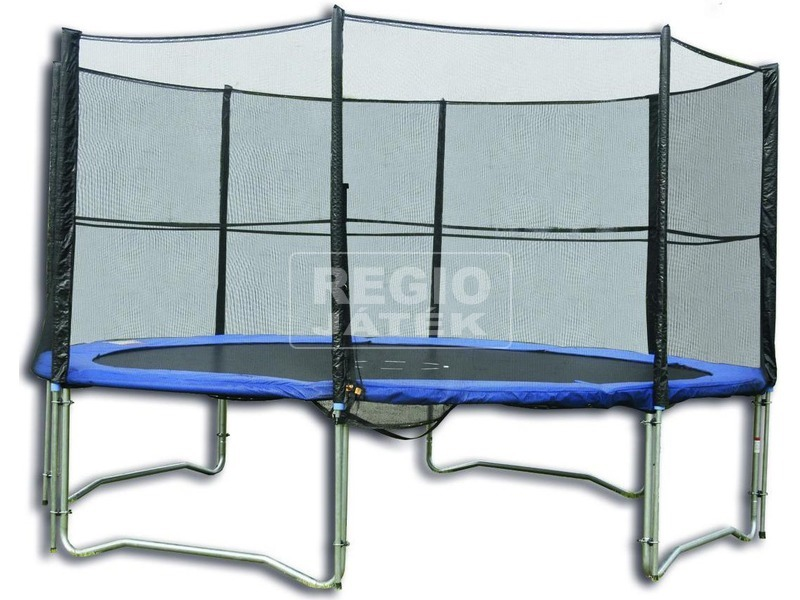 Trambulin védőhálóval - 304 cm