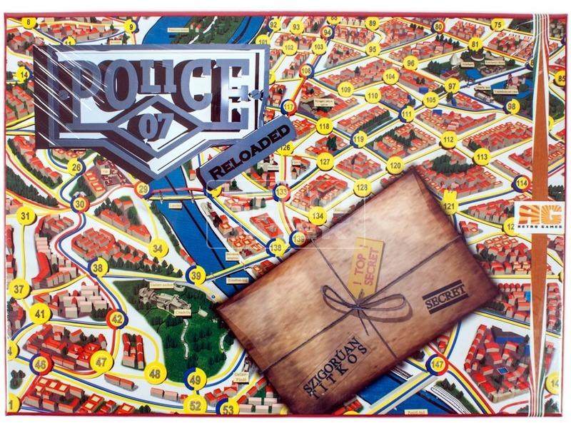 Police 07 Reloaded társasjáték
