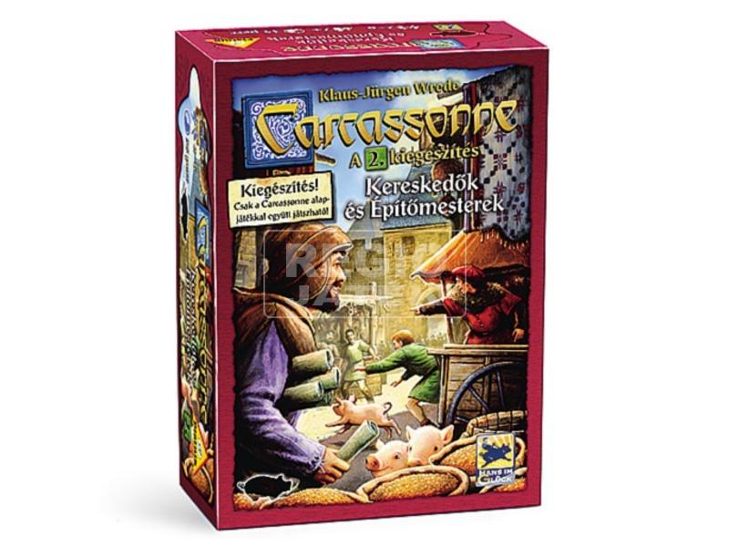 Carcassonne kereskedők és építőmesterek kiegészítő