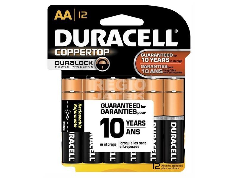 Duracell Turbo Max AA ceruzaelem 6 darabos
