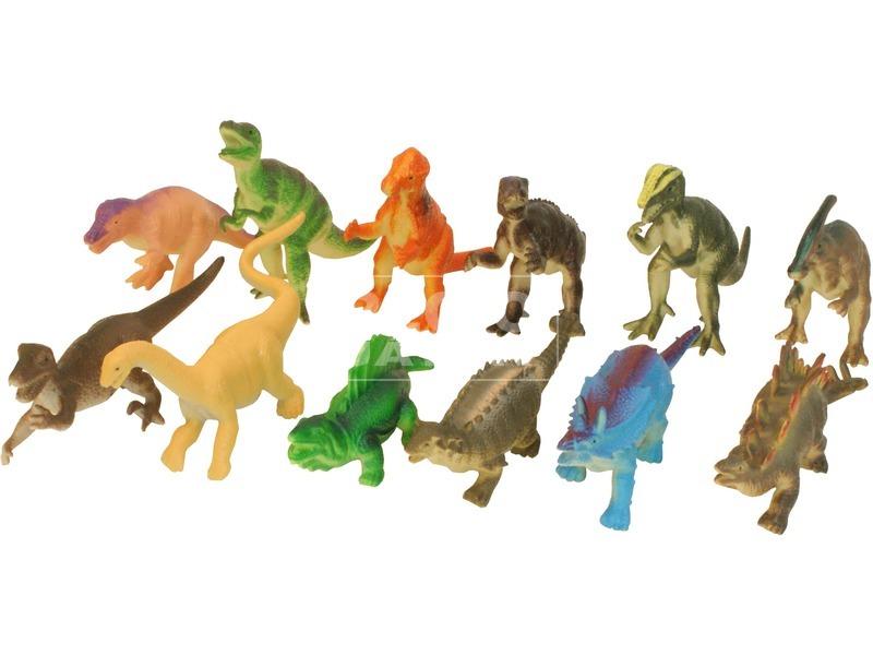 Műanyag dinoszaurusz, többféle