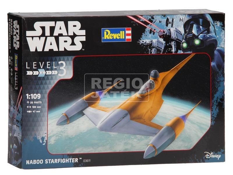 Star Wars: Naboo Starfighter makett - 1:109