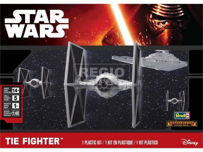 Star Wars: TIE Fighter makett - 1:48