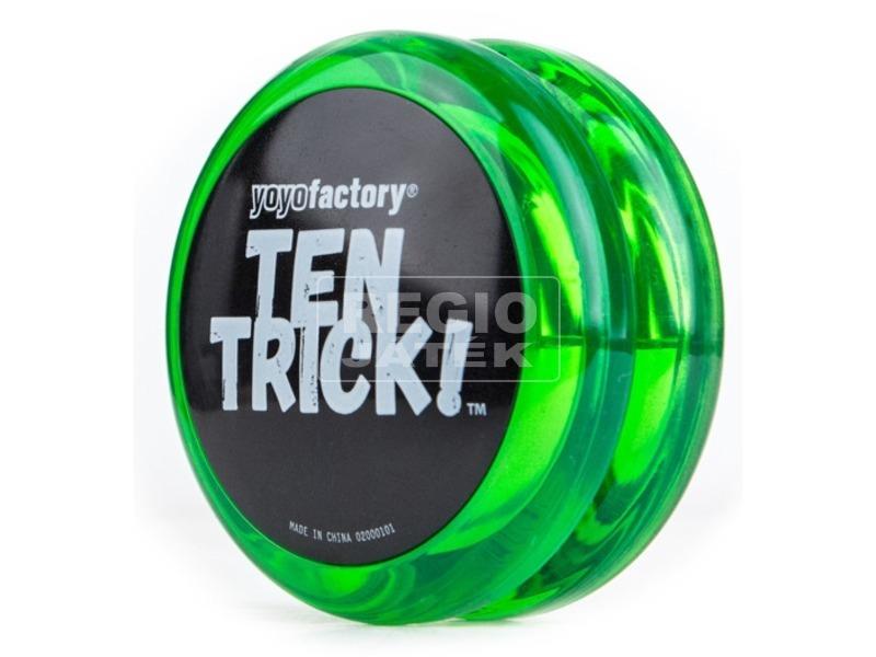 Ten Trick yo-yo - zöld