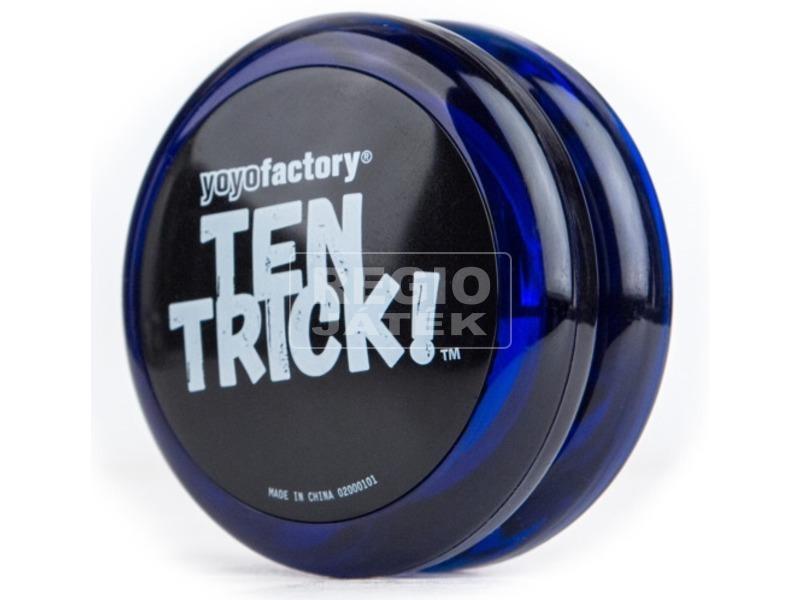 Ten Trick yo-yo - kék