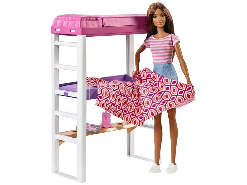 kép nagyítása Barbie: szoba babával - többféle