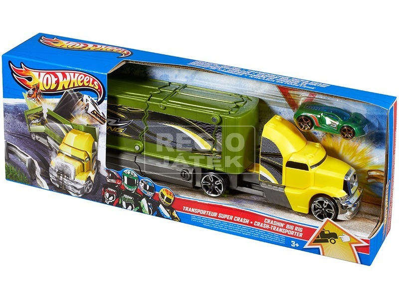 Hot Wheels karambol kamion - többféle