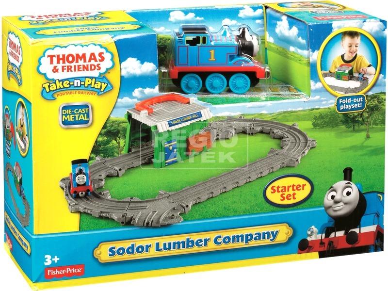 Thomas a gőzmozdony Sodor sziget szett