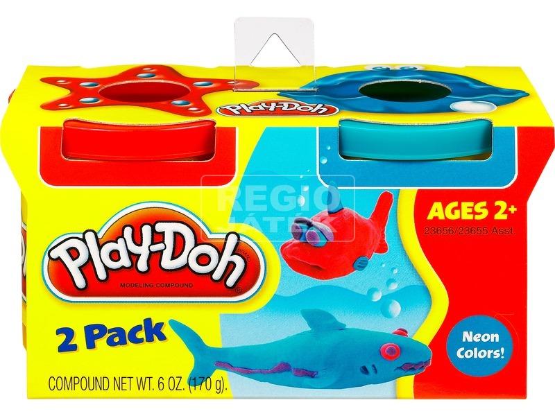 kép nagyítása Play-Doh két tégelyes gyurma utántöltő - többféle