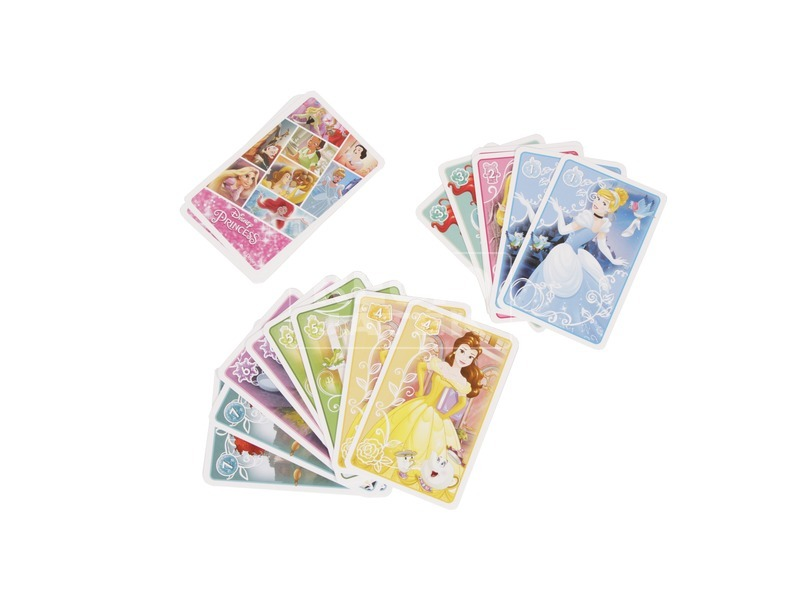 kép nagyítása Disney hercegnők mini Fekete Péter kártyajáték