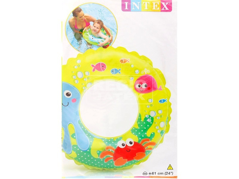 Intex 59242 Állatos úszógumi - 61 cm, többféle