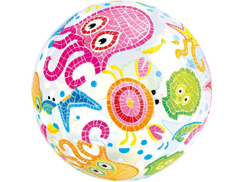 kép nagyítása Mintás felfújható strandlabda - 51 cm, többféle