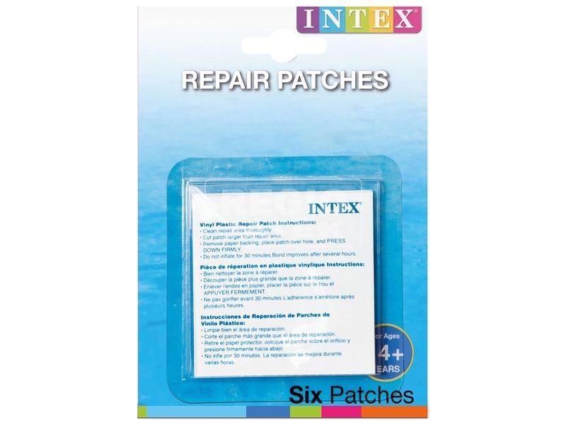 Intex 59631 Strandjáték javító öntapadós készlet