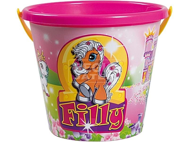 Filly póni homokozó vödör - 19 cm