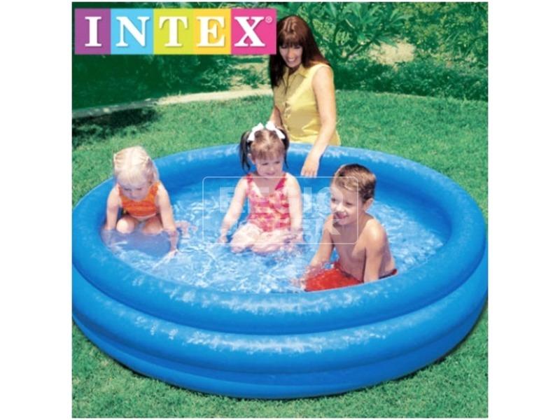 kép nagyítása Intex 58426 Kristály medence - 147 x 33 cm, kék