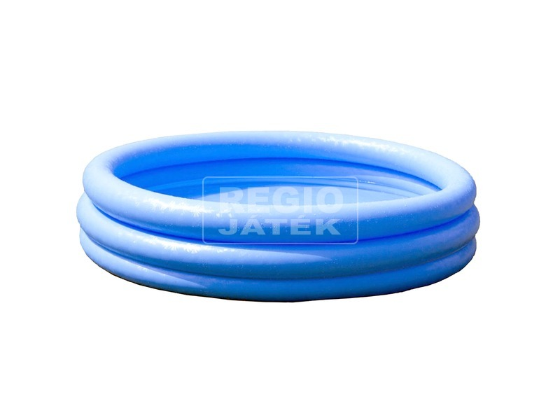 Háromgyűrűs medence - 114 x 25 cm, kék