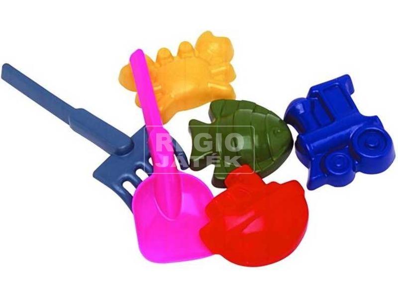 Homokozó játék 6 darabos készlet