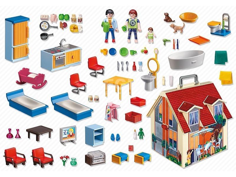 kép nagyítása Playmobil Hordozható családi ház 5167