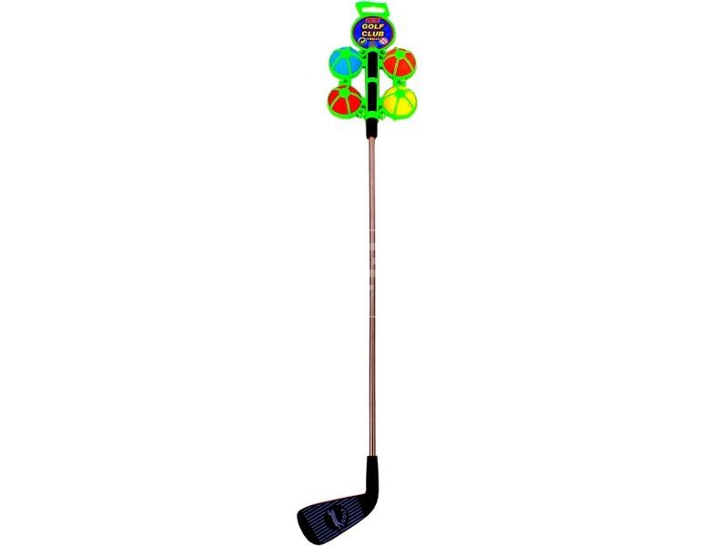 Golf készlet 4 darab labdával