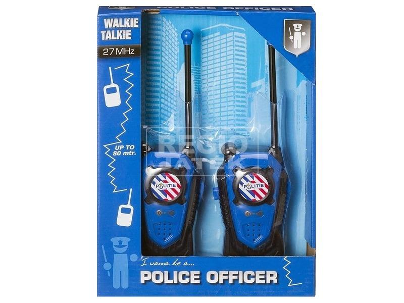 Rendőrségi adóvevő készlet