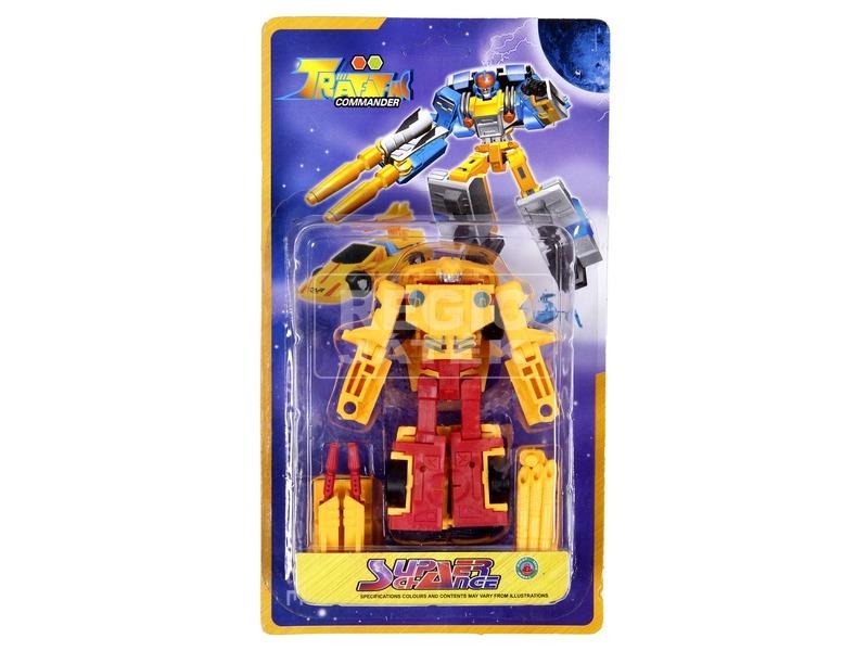 Super Change átalakuló robot - 12 cm