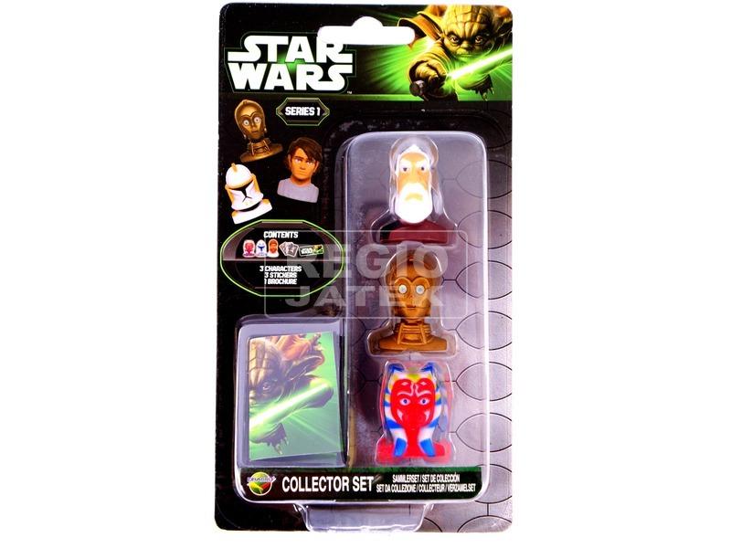 Star Wars: fejek 3 darabos készlet - többféle