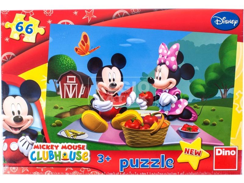Mikiegér 66 darabos puzzle